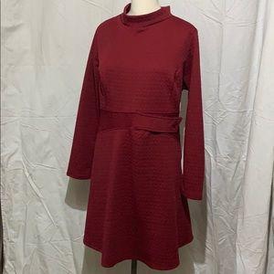 NWOT ModCloth Garnet dress